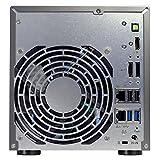 Asustor AS6202T 2-Bay NAS System (Intel Celeron, 4GB RAM, Gigabit-LAN mit Link-Aggregation, HDMI 1.4b, HotSwap, Raid 0, 1, JBOD) schwarz - 5