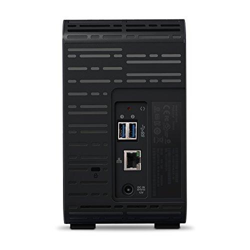 WD My Cloud EX2 Ultra NAS Festplatte 8 TB (zentraler Netzwerkspeicher, einfache Installation, zwei Laufwerkschächte, mobiler Zugriff, automatische Backups) - 4
