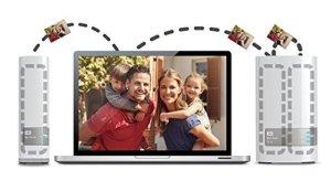 Western Digital 4TB (2x2TB) My Cloud Mirror Gen 2, NAS 2 Bay, Persönlicher Cloud Speicher, Media Server, Backup, Handy und Tablet Sicherung, Syncronisations Software - 3