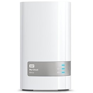Western Digital 4TB (2x2TB) My Cloud Mirror Gen 2, NAS 2 Bay, Persönlicher Cloud Speicher, Media Server, Backup, Handy und Tablet Sicherung, Syncronisations Software - 1