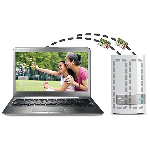 Western Digital 4TB (2x2TB) My Cloud Mirror Gen 2, NAS 2 Bay, Persönlicher Cloud Speicher